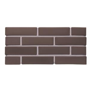 Лицевой кирпич пустотелый КС-керамик темный шоколад полуторный гладкий