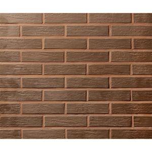 Плитка под кирпич Lode Vecais Brunis, 250x10x65 коричневая ретро