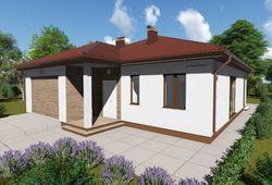 Готовый проект дома Keradom №2 из керамических блоков