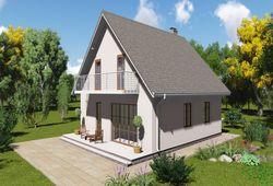 Готовый проект дома Keradom №3 из керамических блоков